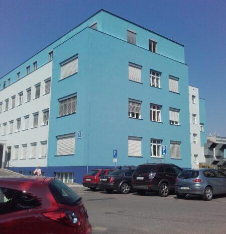 Zateplení pavilónů nemocnice
